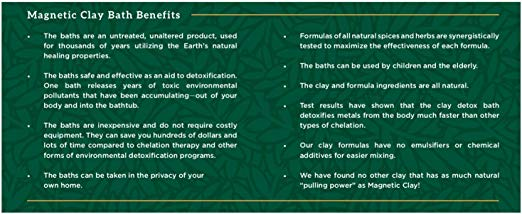 magnetic clay benefits