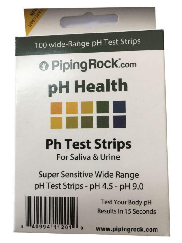 Piping Rock PH Tape